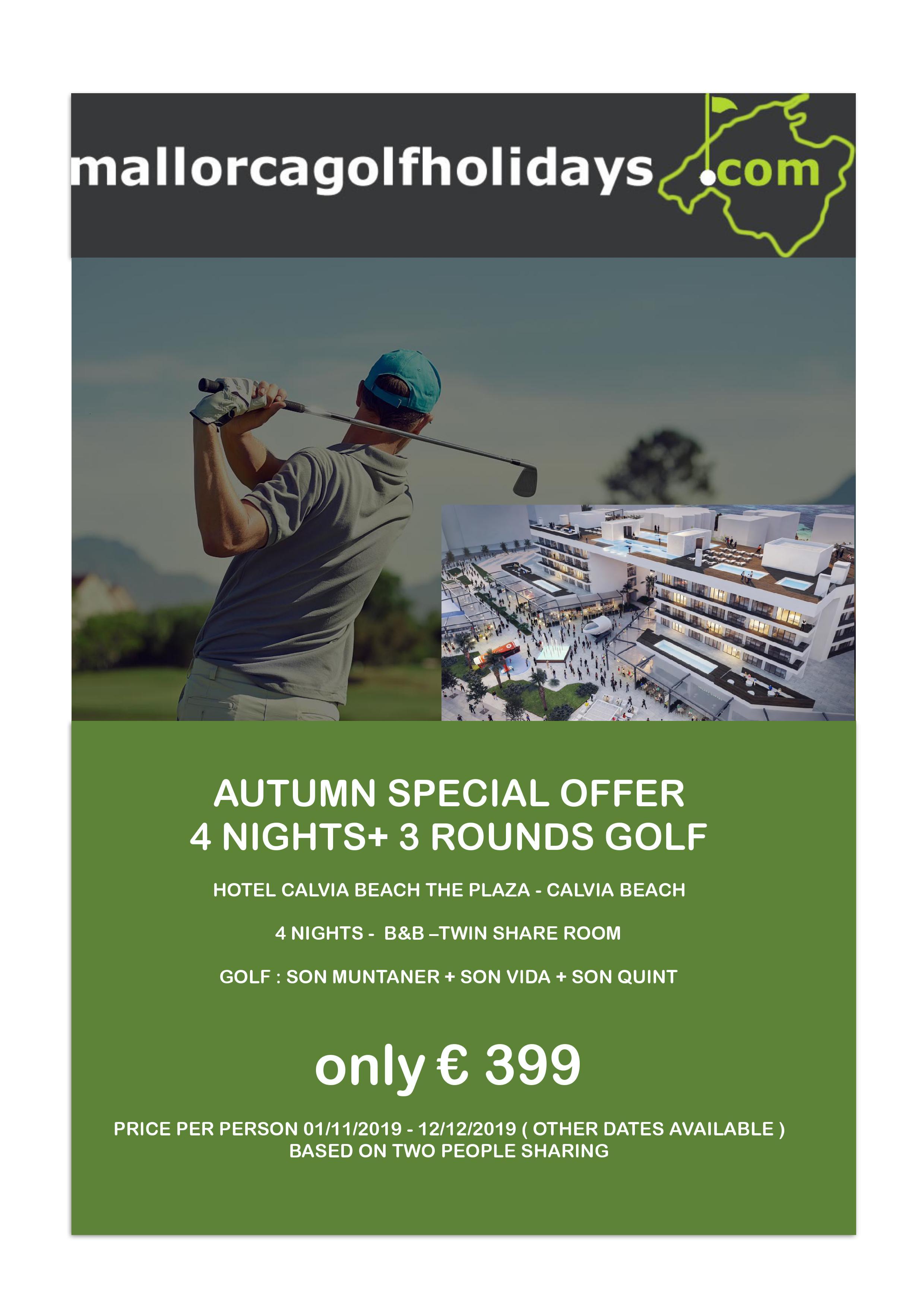Mallorca golf special
